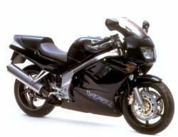 Honda vfr 750F RC36 1995 black reproduction decals