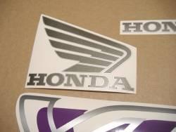 Honda VFR 750F RC36 1995 black decals set