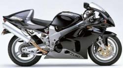 Suzuki TLR 1999 Superbike black decals