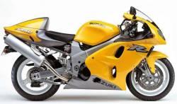 Suzuki TLR 2000 Superbike yellow decals