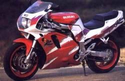 Suzuki GSXR 750 (WP) 1993 red decals kit