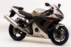 Yamaha R6 2004 5SL complete sticker kit