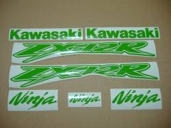 Kawasaki ZX-12R Ninja poison lime green graphics
