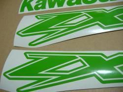 Kawasaki ZX-12R Ninja poison lime green decals