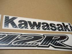 Kawasaki ZX-12R Ninja carbon fiber adhesives set