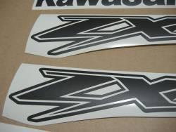 Kawasaki ZX-12R Ninja matte black adhesives kit