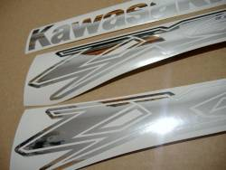 Kawasaki-zx12r-chrome-mirror-silver-stickers-kit