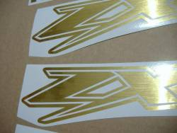 Kawasaki ZX12R Ninja brushed golden graphics