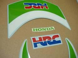 Honda CBR 1000RR lime green HRC 2010 graphics set