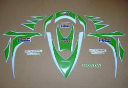 Honda CBR Fireblade lime green HRC 2011 stickers set