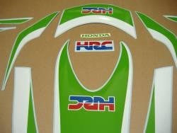Honda CBR 1000RR lime green HRC 2011 adhesives