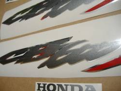 Honda CB600S Hornet S 2003-2004 silver adhesives