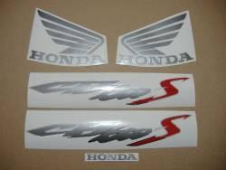 Honda CB600S Hornet S 2003 silver grey decals