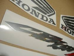 Honda CB600S Hornet S 2003-2004 silver graphics
