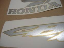 Honda CB600S Hornet S 2004 black emblems logo set
