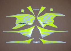 Suzuki Hayabusa 2010 fluo neon yellow/green decals