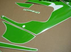 Honda CBR 929RR 2000-2001 lime green emblems logo set