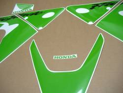 Honda CBR 929RR 2000-2001 lime green stickers set