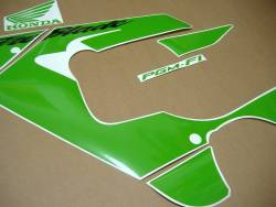 Honda CBR 929RR 2000-2001 lime green graphics set