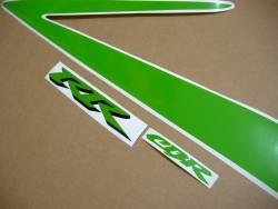 Honda CBR 929RR 2000-2001 poison green graphics kit