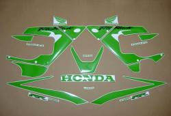 Honda CBR 929RR 2000-2001 lime green decals set