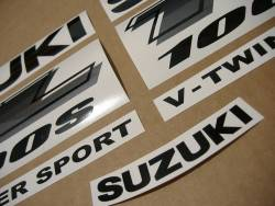 Suzuki TL1000s 1999-2000 V-twin yellow stickers kit