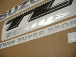 Suzuki TL1000s 1999-2000 V-twin red stickers kit