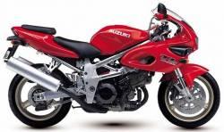 Suzuki TL1000s 1999-2000 V-twin red decals set