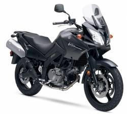 Suzuki V-Strom DL 650 2008 matte black decal set