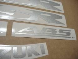 Suzuki GSR 600 ABS 2009 K9 titanium grey decals set