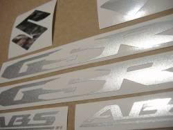 Suzuki GSR 600 2009 K9 titanium grey reproduction decals