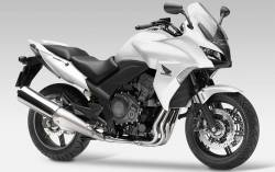 Honda CBF 1000 2010-2012 white full decals kit