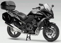 Honda CBF1000 2010-2012 black replica adhesives