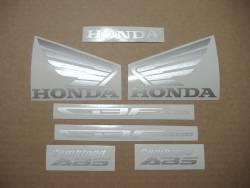 Honda CBF1000 2010 black complete decals set