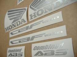 Honda CBF 1000 2010-2012 black replacement decals