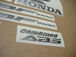 Honda CBF1000 2011-2012 wine red reproduction stickers