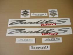 Suzuki Bandit GSF 1250S 2007 black complete decals set