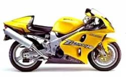 Suzuki TL 1000R V-twin 2001 yellow complete decals set