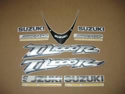 Suzuki TL1000R V-twin 2001 red complete decals set