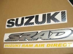 Suzuki TL1000R V-twin 2001 red logo graphics set