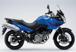 Suzuki V-Strom 650 2008 K8 blue replica adhesives