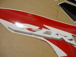 Honda CBR 600RR 2008 red decal set