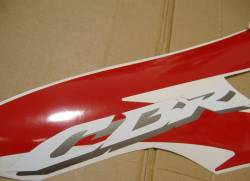 Honda CBR 600RR 2008 red decals kit