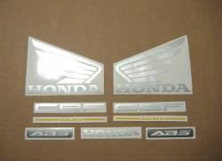 Honda CBF500 2005 black complete decals set