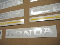 Honda CBF 500 2004 blue emblems logo set