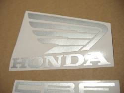 Honda CBF500 2004 blue replacement decals kit