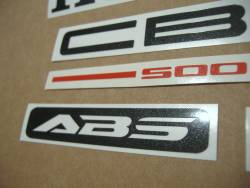Honda CBF 500 2004 grey replacement decals