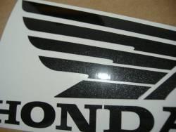 Honda CBF500 2004 silver replacement stickers