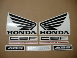 Honda CBF 600s pc38 2006 baby blue complete decals set