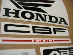 Honda CBF 600s pc38 2006 baby blue replica graphics